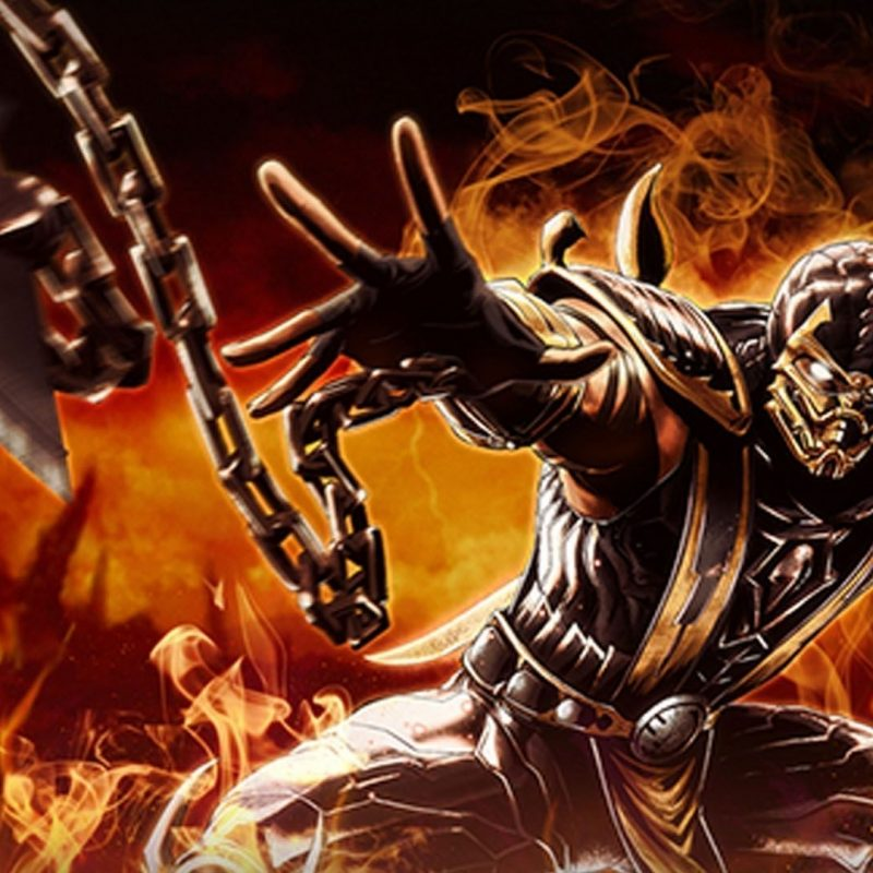 10 Latest Scorpion Mortal Kombat Wallpapers FULL HD 1920×1080 For PC Desktop 2018 free download mortal kombat scorpion wallpaper for iphone u7f mortal kombat 800x800