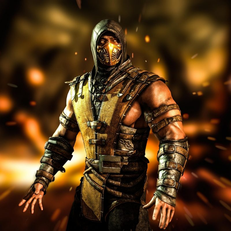 10 Best Mortal Kombat Scorpion Wallpaper FULL HD 1920×1080 For PC Background 2018 free download mortal kombat x scorpion wallpaper hd desktop widescreen 800x800