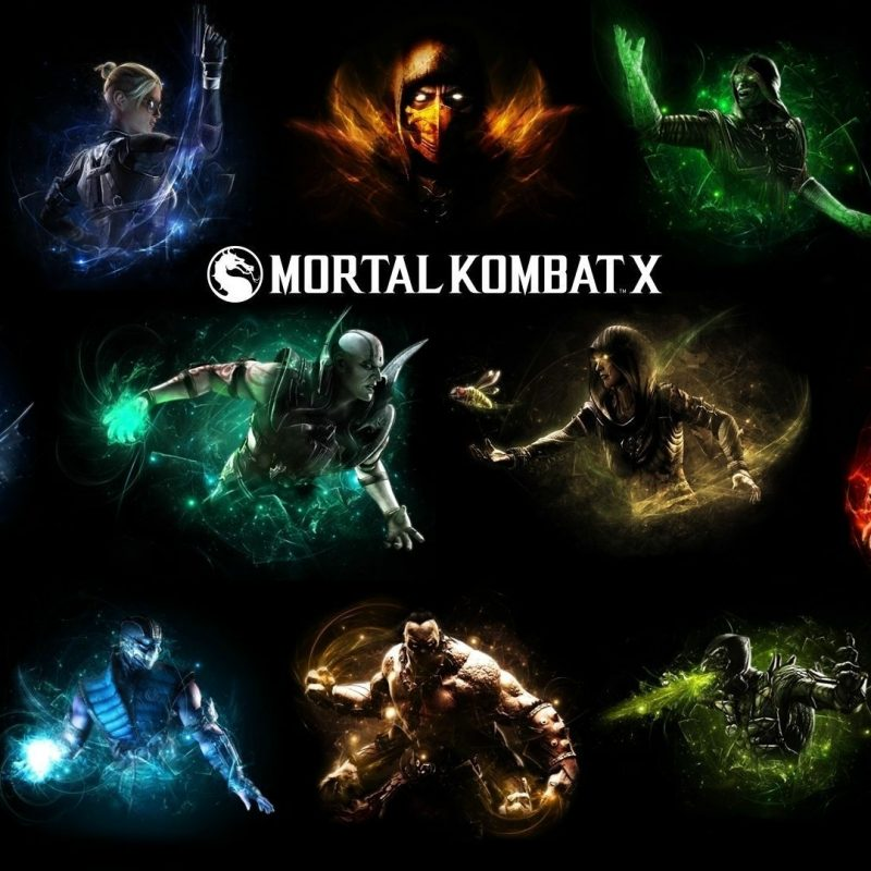 10 Most Popular Mortal Kombat X Characters Wallpapers FULL HD 1080p For PC Desktop 2018 free download mortal kombat x subzero vs scorpion hd desktop wallpaper high 800x800
