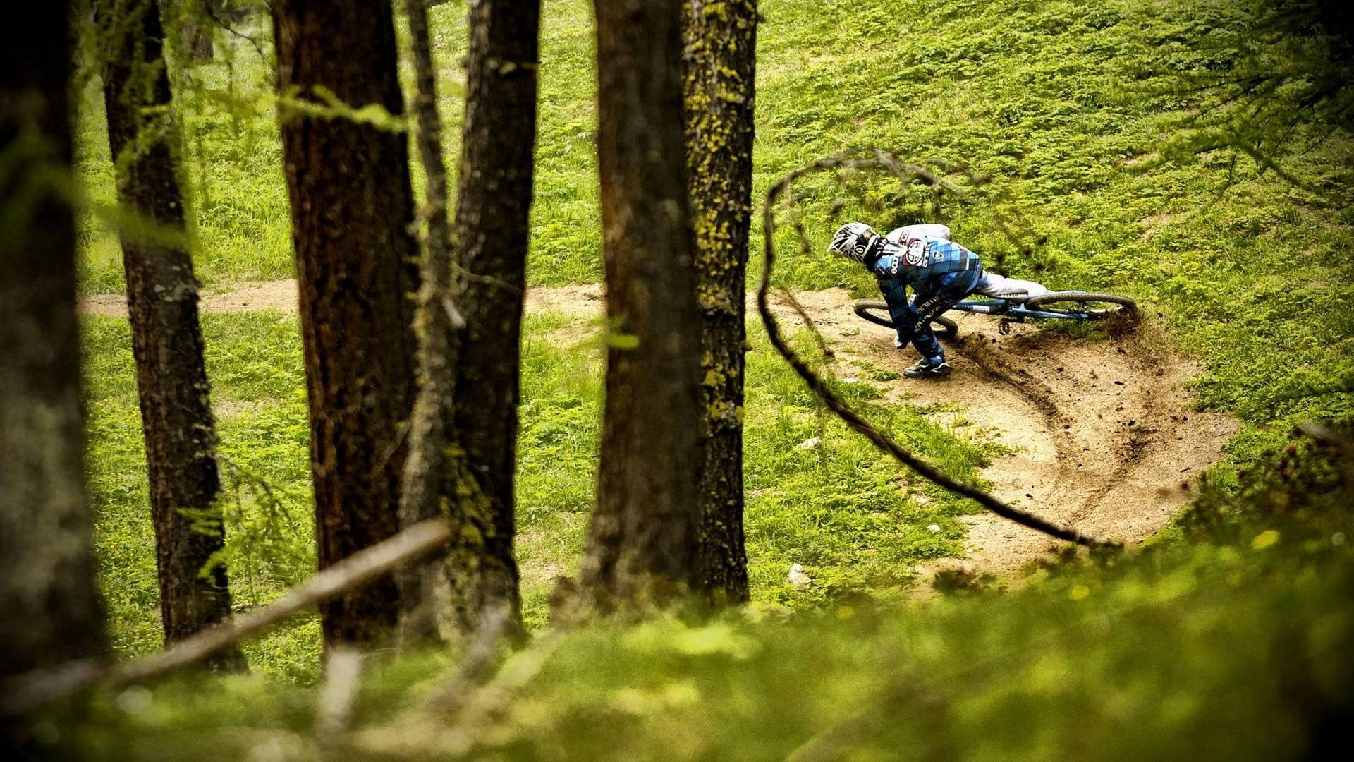 mountain biking high definition wallpaper 09289 - baltana