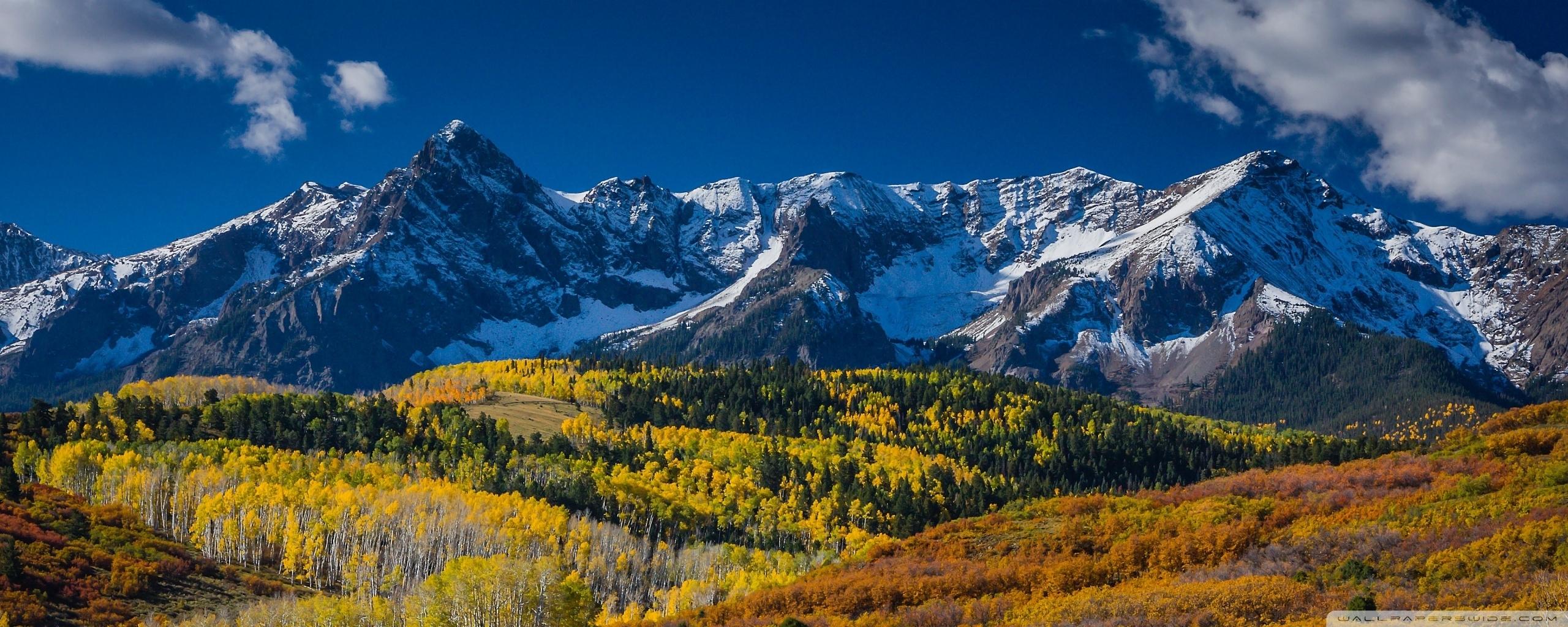 mountain landscape in aspen, colorado ❤ 4k hd desktop wallpaper for