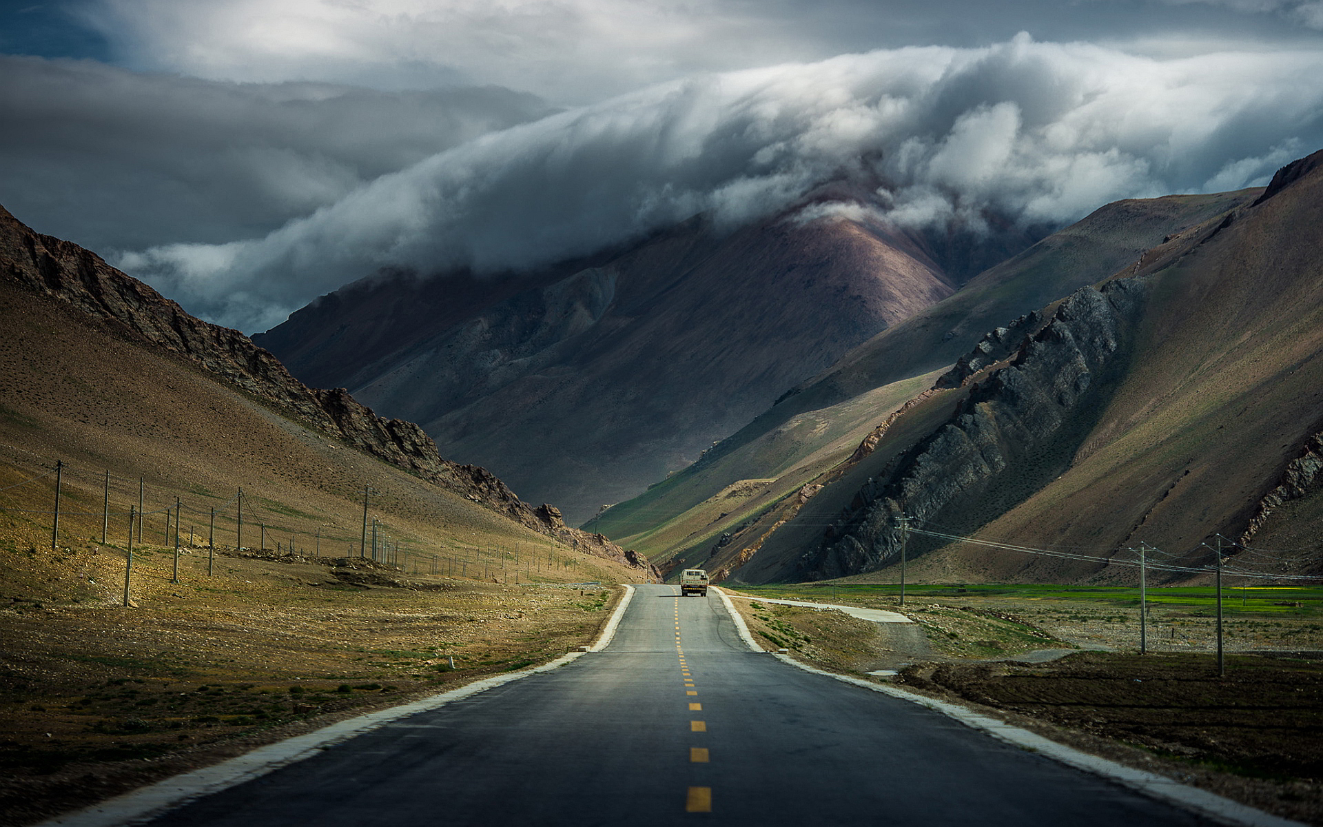 mountain road wallpaper | 1920x1200 | #68684