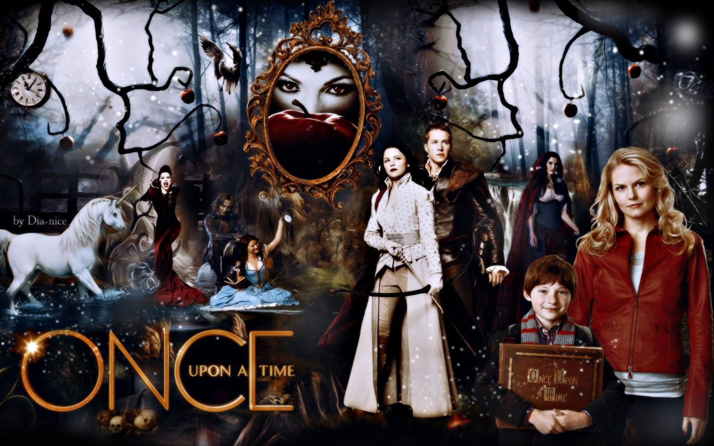 movies once upon a time season 5 wallpapers (desktop, phone, tablet