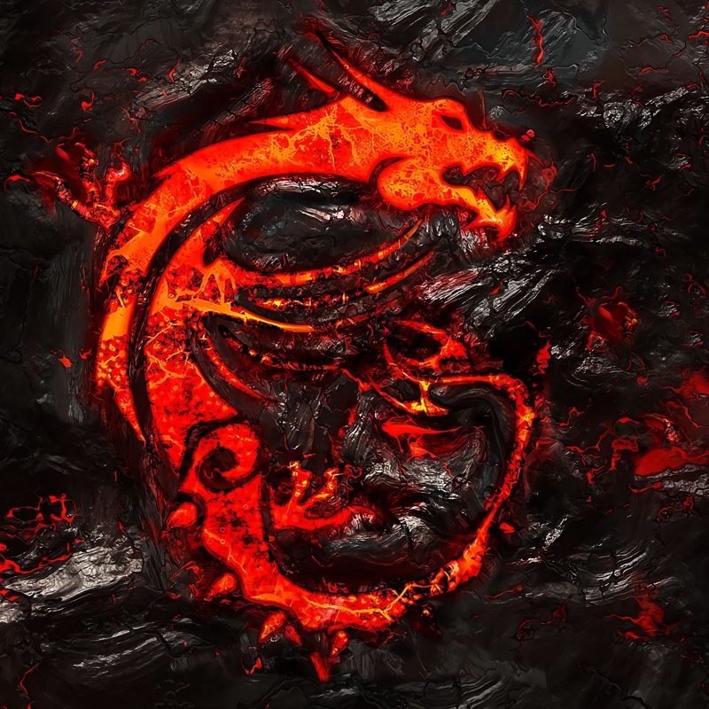10 Most Popular Msi Dragon Wallpaper Hd FULL HD 1080p For PC Desktop 2018 free download msi dragon logo burning lava background 4k wallpaper msi 800x800