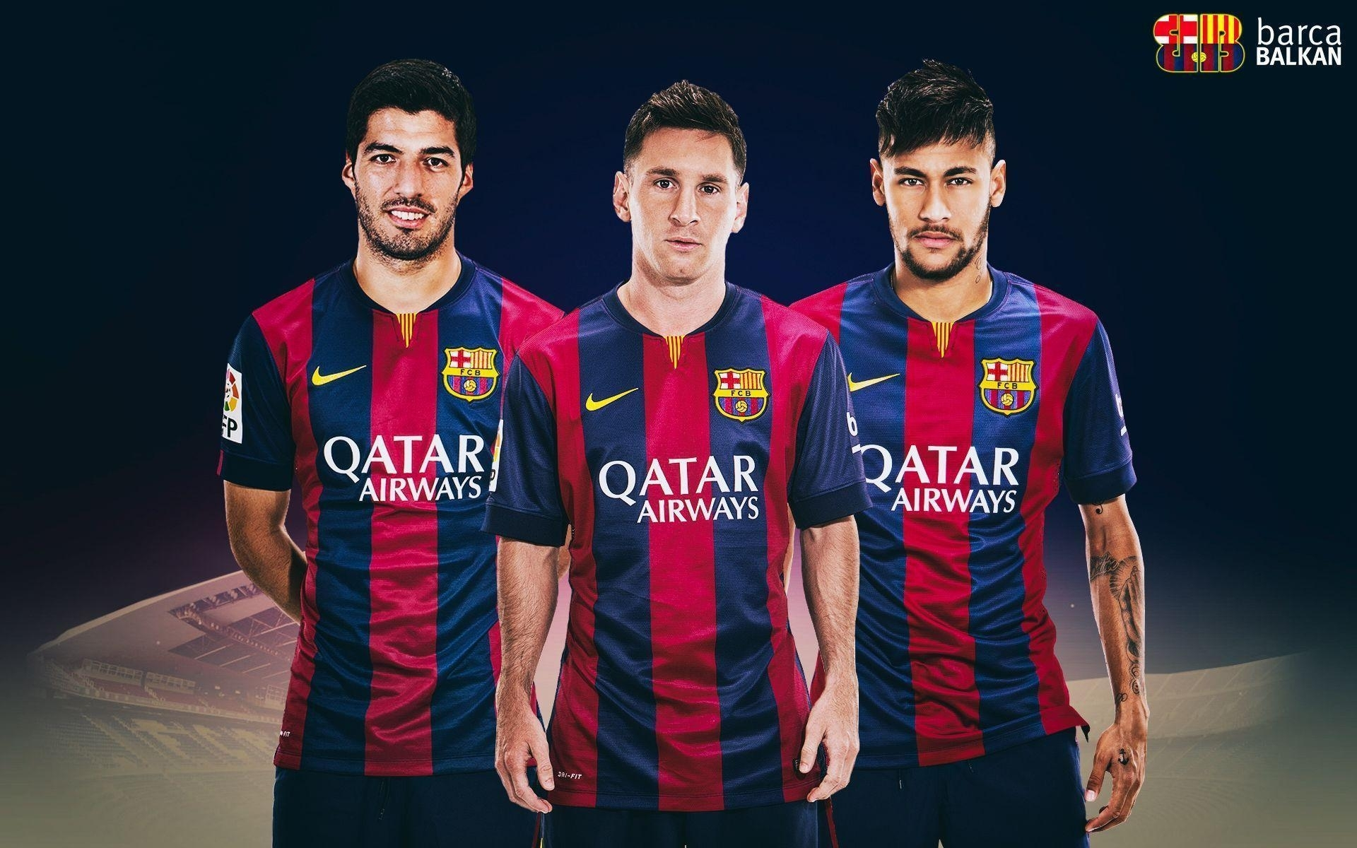 10 Latest Messi Neymar And Suarez Wallpaper FULL HD 1920×1080 For PC Background