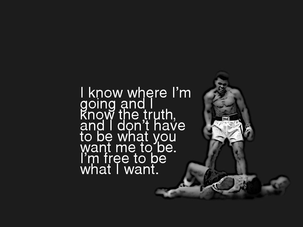 muhammad ali quote wallpaper desktop wallpaper | wallpaperlepi