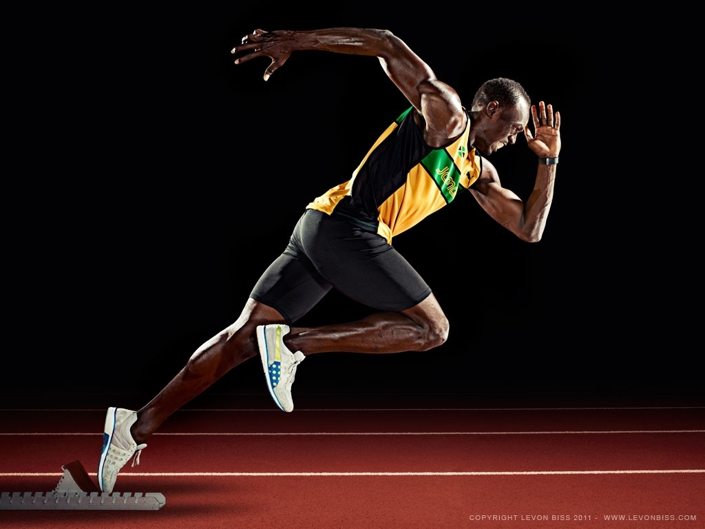10 New Usain Bolt Running Wallpaper FULL HD 1920×1080 For PC Desktop