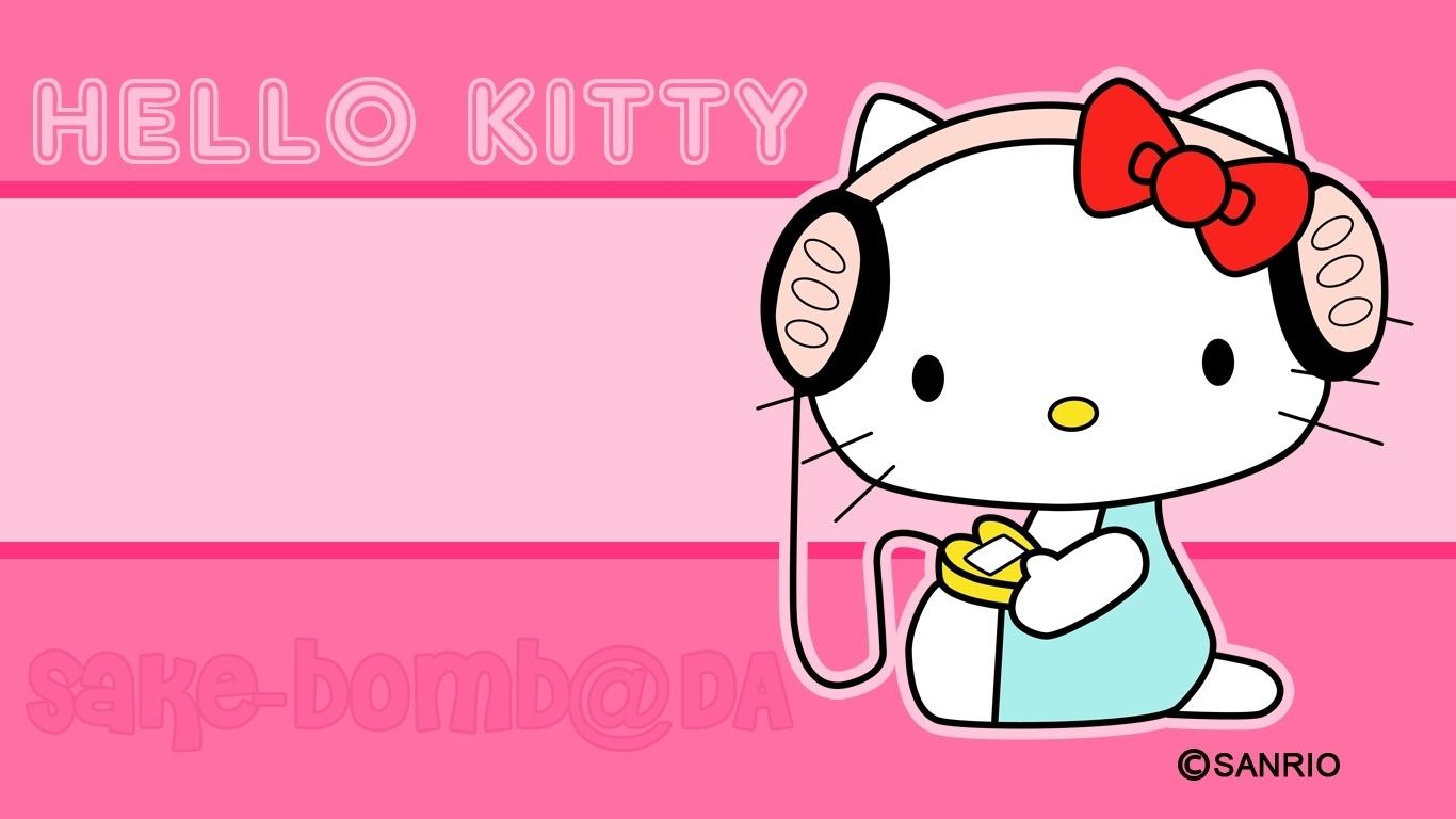 music kitty cute wallpaper wallpaper | wallpaperlepi