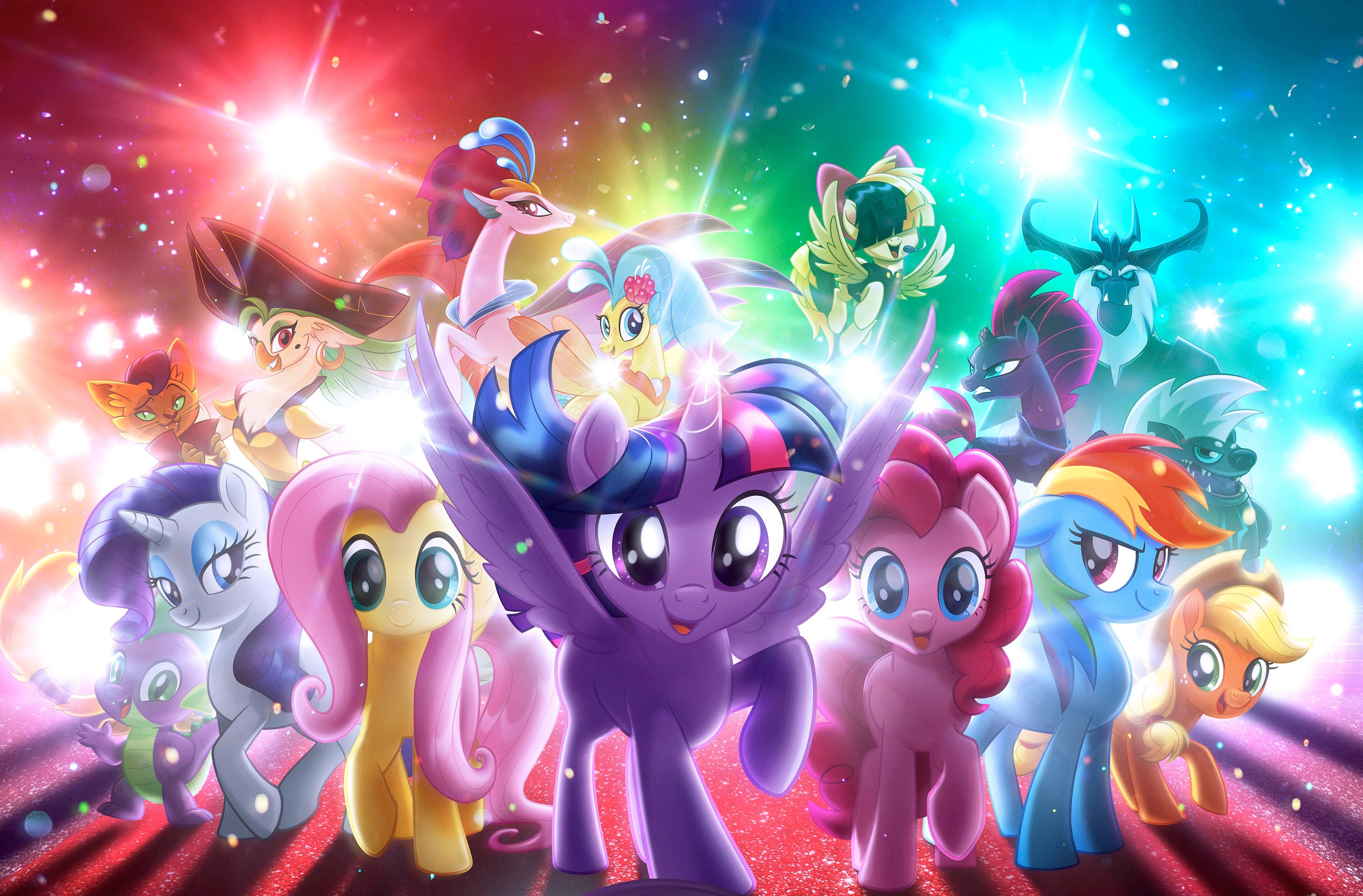 my little pony the movie, hd movies, 4k wallpapers, images