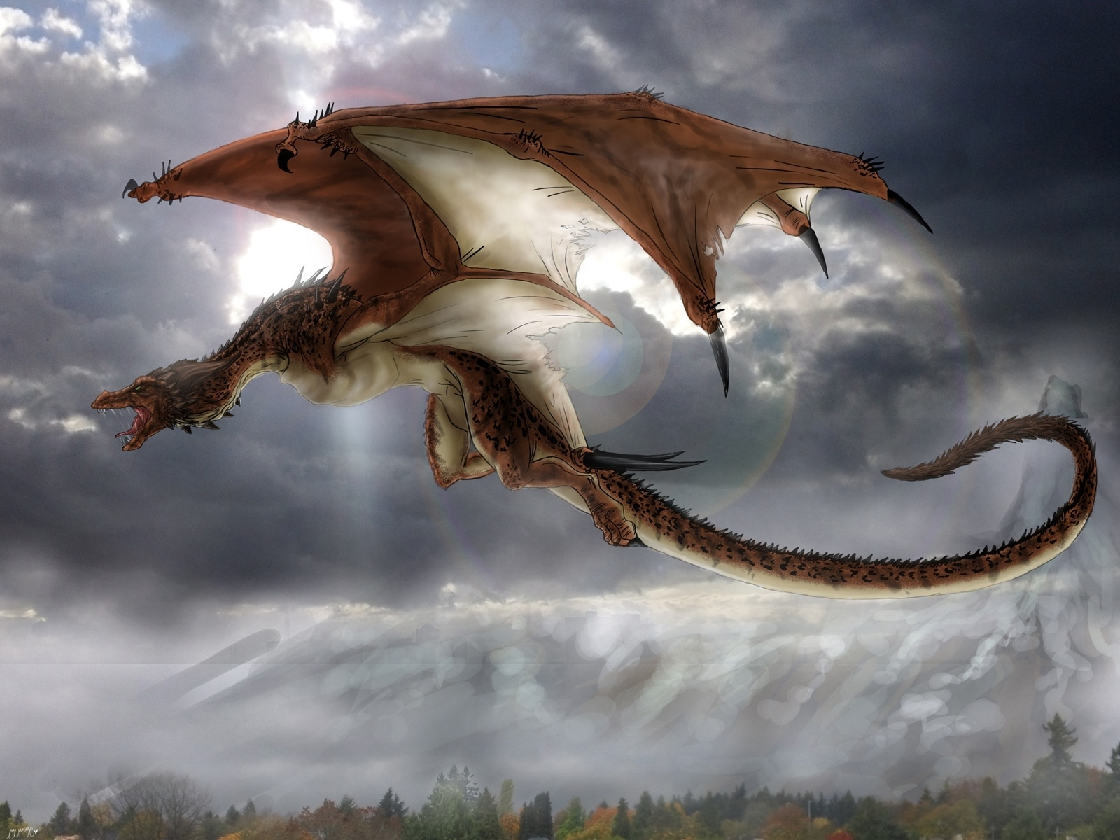 mythical creatures images dragon hd wallpaper and background photos