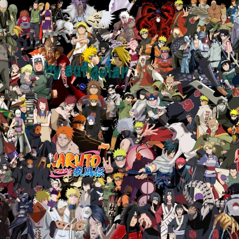 10 Most Popular Naruto All Characters Wallpaper FULL HD 1920×1080 For PC Desktop 2018 free download naruto shippuden all characters wallpaper naruto shippuden all 800x800