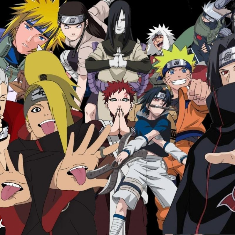10 Most Popular Naruto All Characters Wallpaper FULL HD 1920×1080 For PC Desktop 2018 free download naruto shippuden characters wallpapers hd background wallpaper 800x800