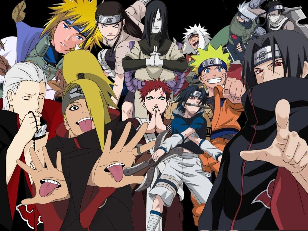 naruto shippuden characters wallpapers hd background wallpaper