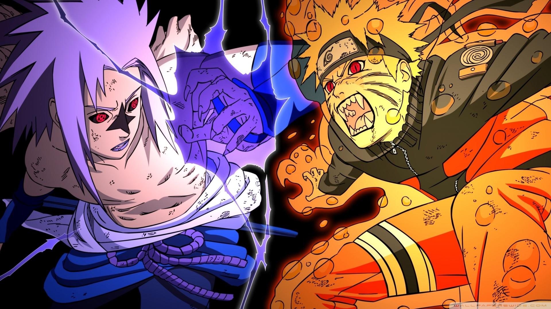 naruto vs sasuke - fighting ❤ 4k hd desktop wallpaper for 4k ultra