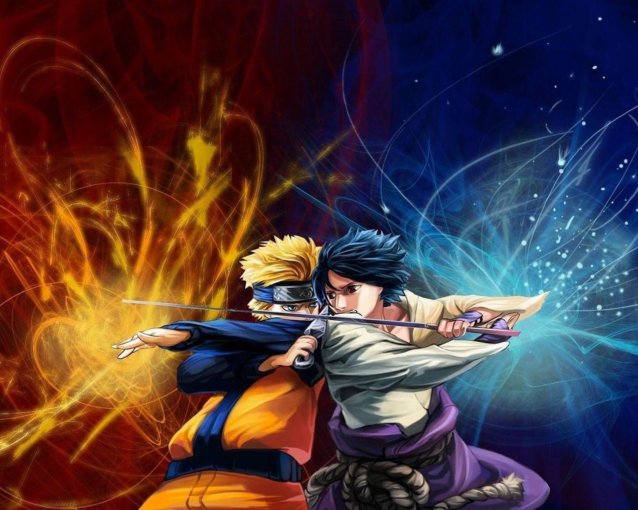 naruto-vs-sasuke-wallpaper-1280×1024-0207 | anime~gaming~scifi