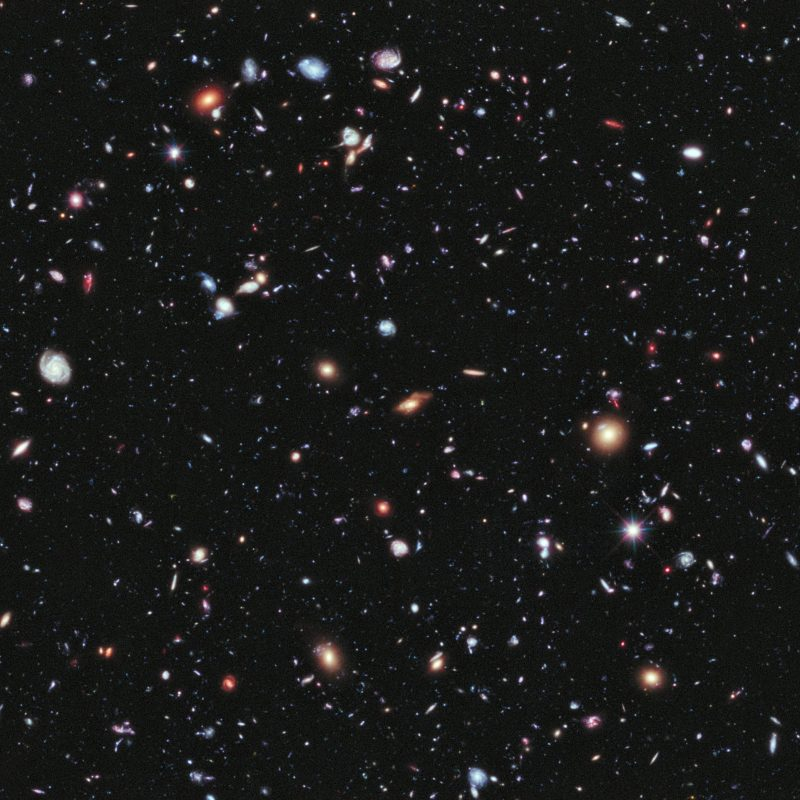 10 Most Popular Hubble Deep Field Image Wallpaper FULL HD 1080p For PC Background 2018 free download nasa hubble goes to the extreme to assemble farthest ever view of 1 800x800