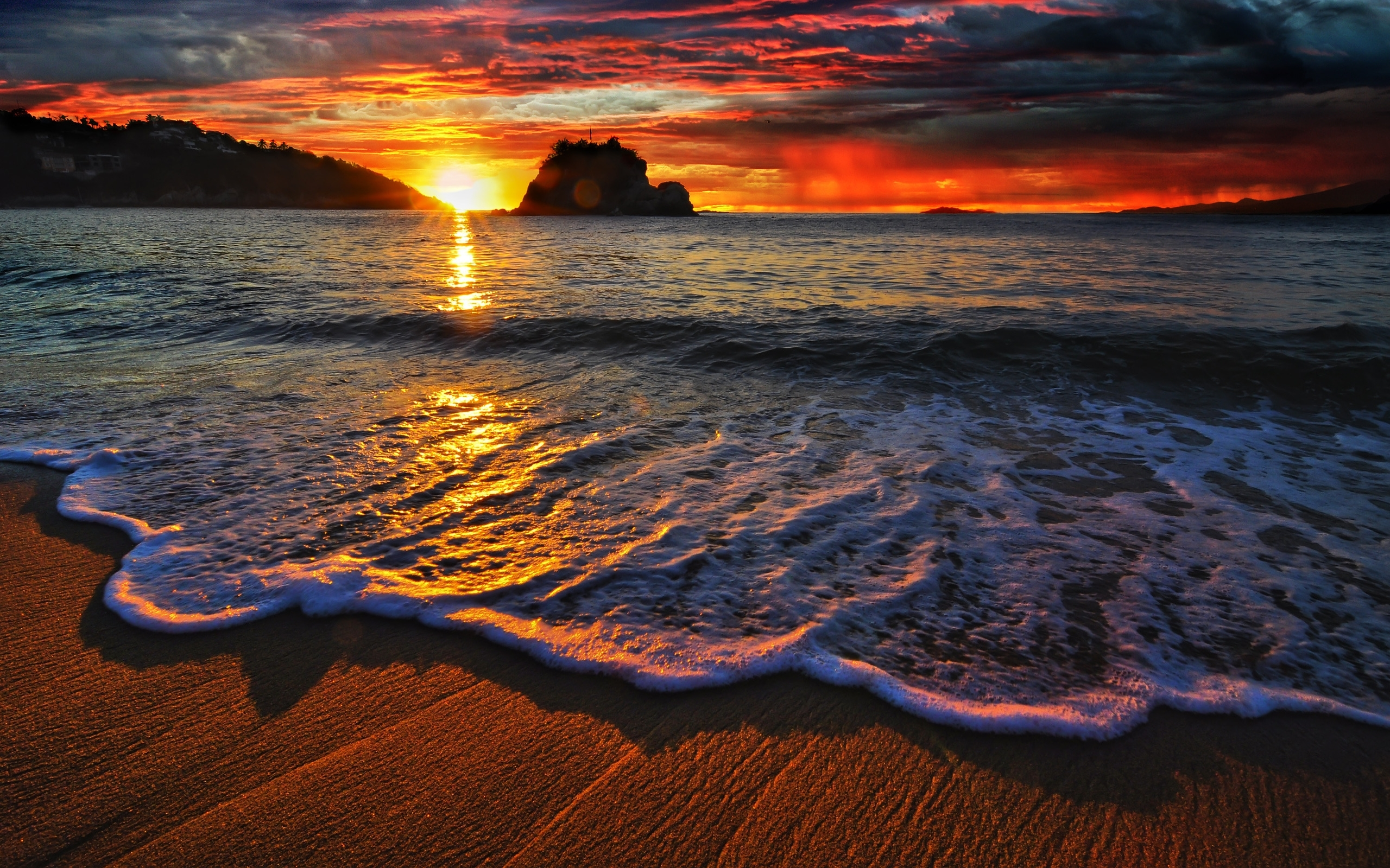 nature & landscape amazing sunset wallpapers (desktop, phone, tablet