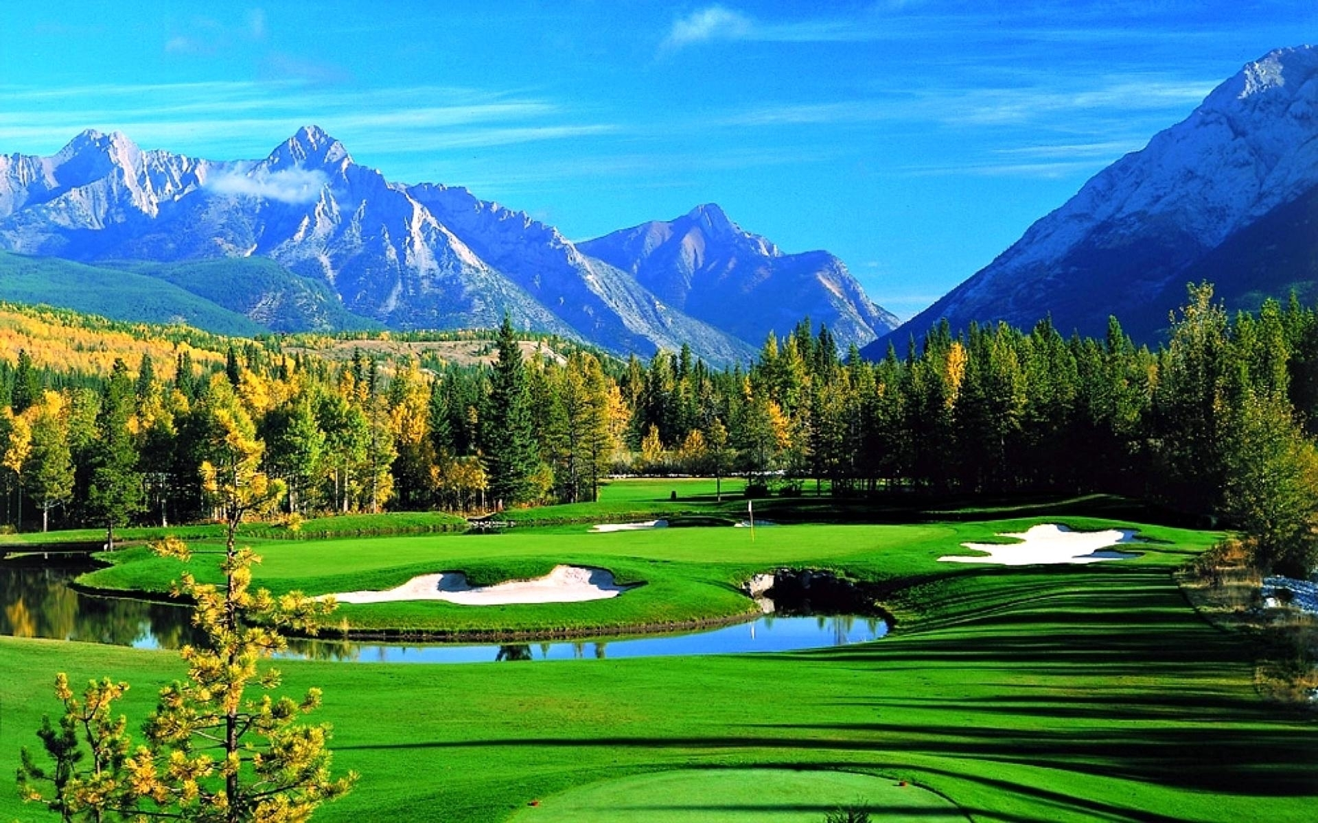 nature & landscape golf course wallpapers (desktop, phone, tablet
