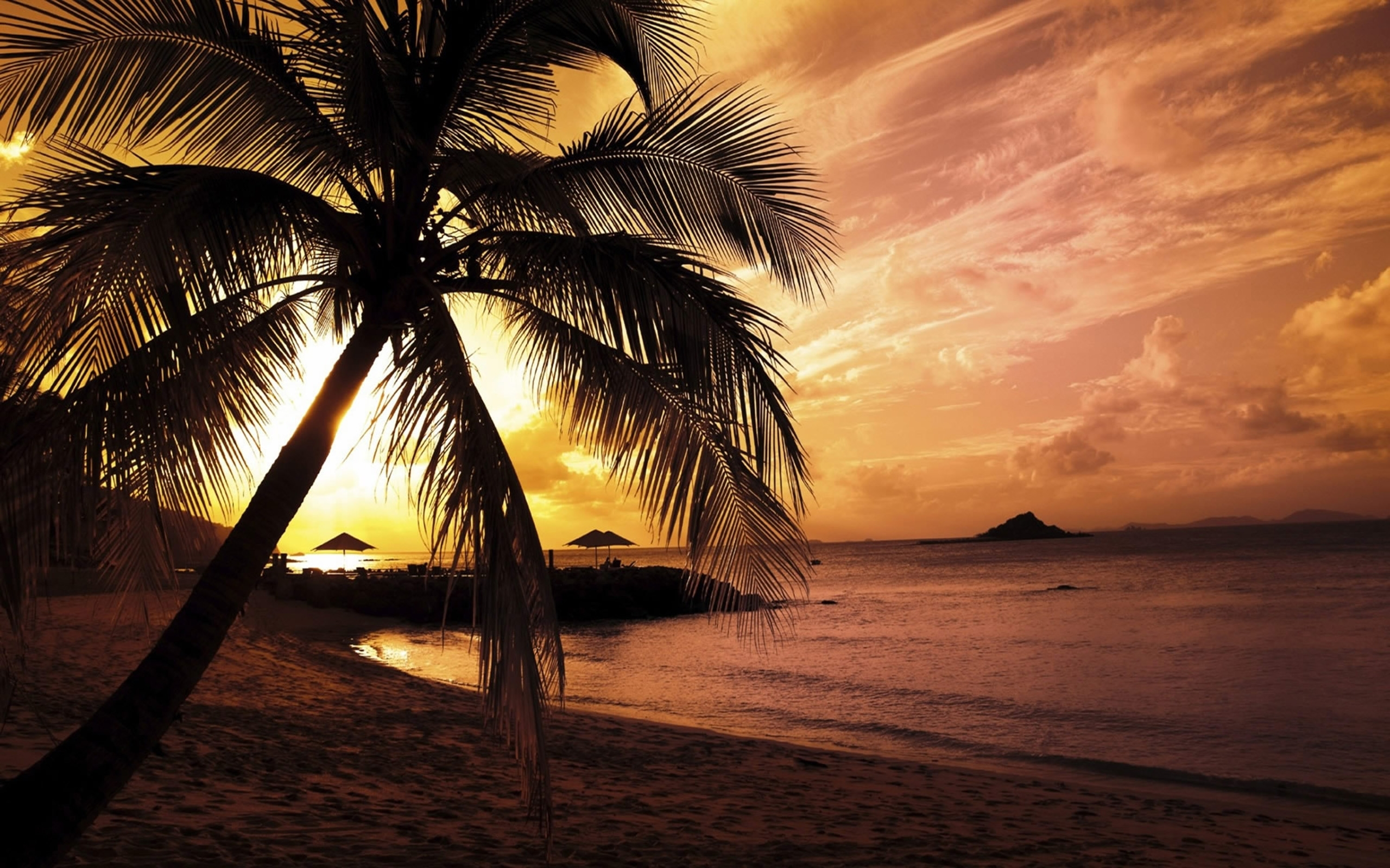 10 Latest Summer Beach Sunset Wallpaper FULL HD 1920×1080 For PC Desktop