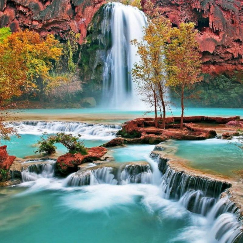 10 New Hd Waterfall Wallpapers 1080P FULL HD 1080p For PC Desktop 2018 free download nature wallpapers beautiful autumn waterfall wallpaper 30777 hd 800x800