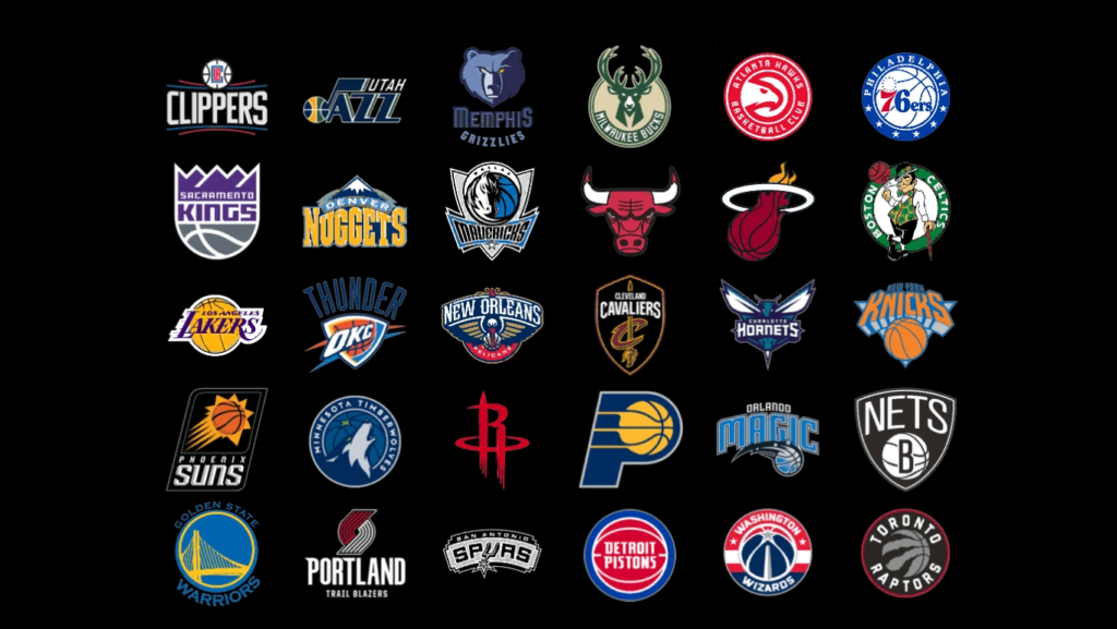 10 New Nba All Team Logos FULL HD 1920×1080 For PC Background 2018 free download nba team stats through history gross designs 1024x577