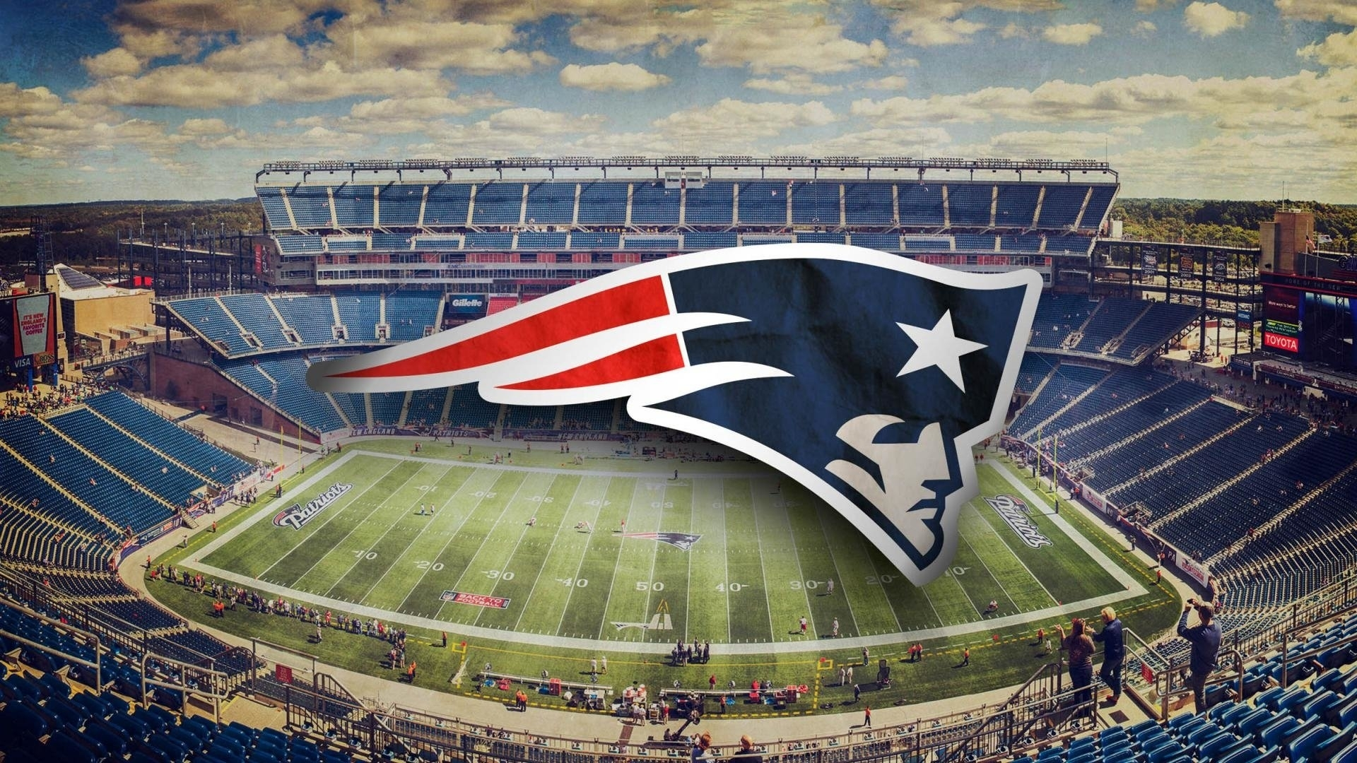 new england patriots stadium full hd fond d'écran and arrière-plan