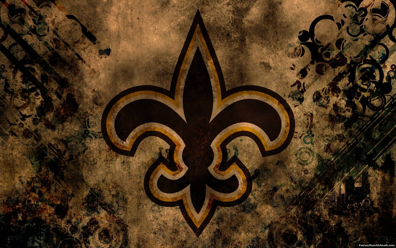 new orleans saints desktop wallpapers - wallpaper cave
