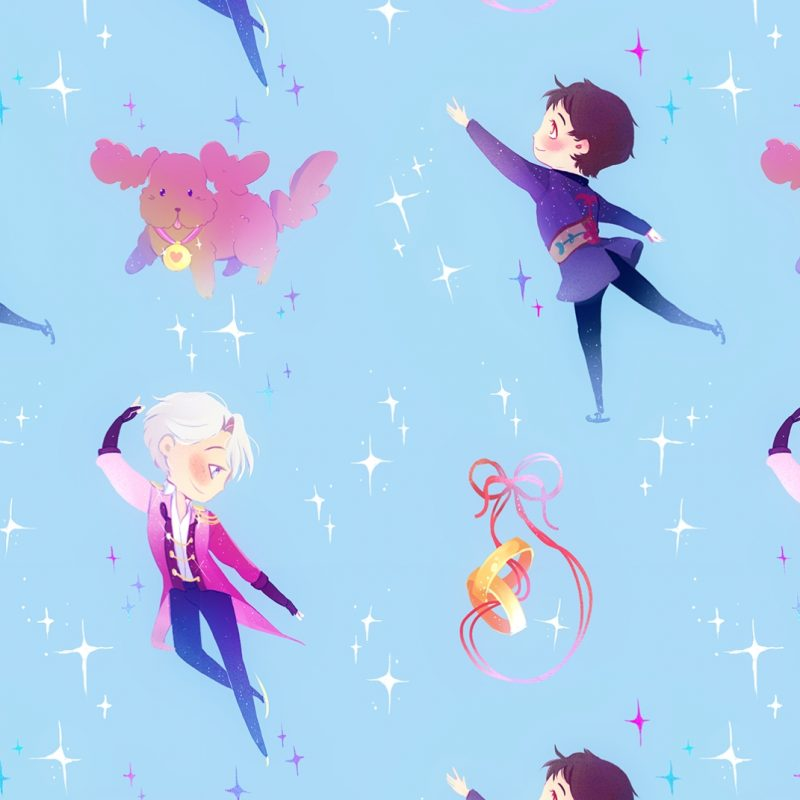 10 Latest Yuri On Ice Phone Wallpaper FULL HD 1080p For PC Background 2018 free download new version of my earlier victuuri patterns after some people asked 800x800