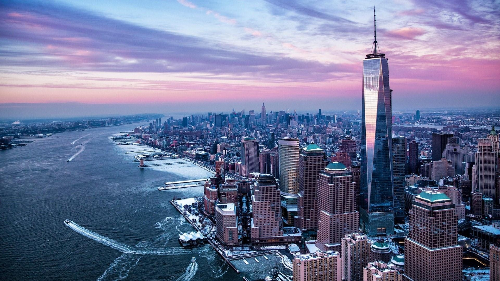 new york aerial view wallpaper | wallpaper studio 10 | tens of