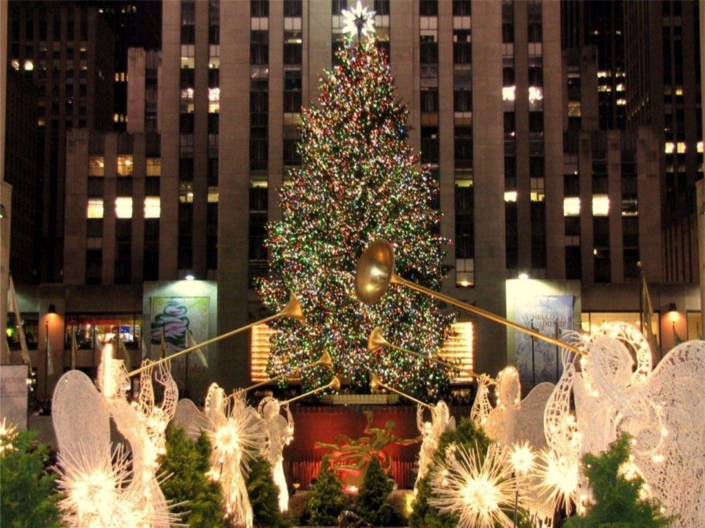 10 Top Christmas New York Wallpaper FULL HD 1080p For PC Desktop 2018 free download new york christmas wallpapers wallpaper cave 1024x768