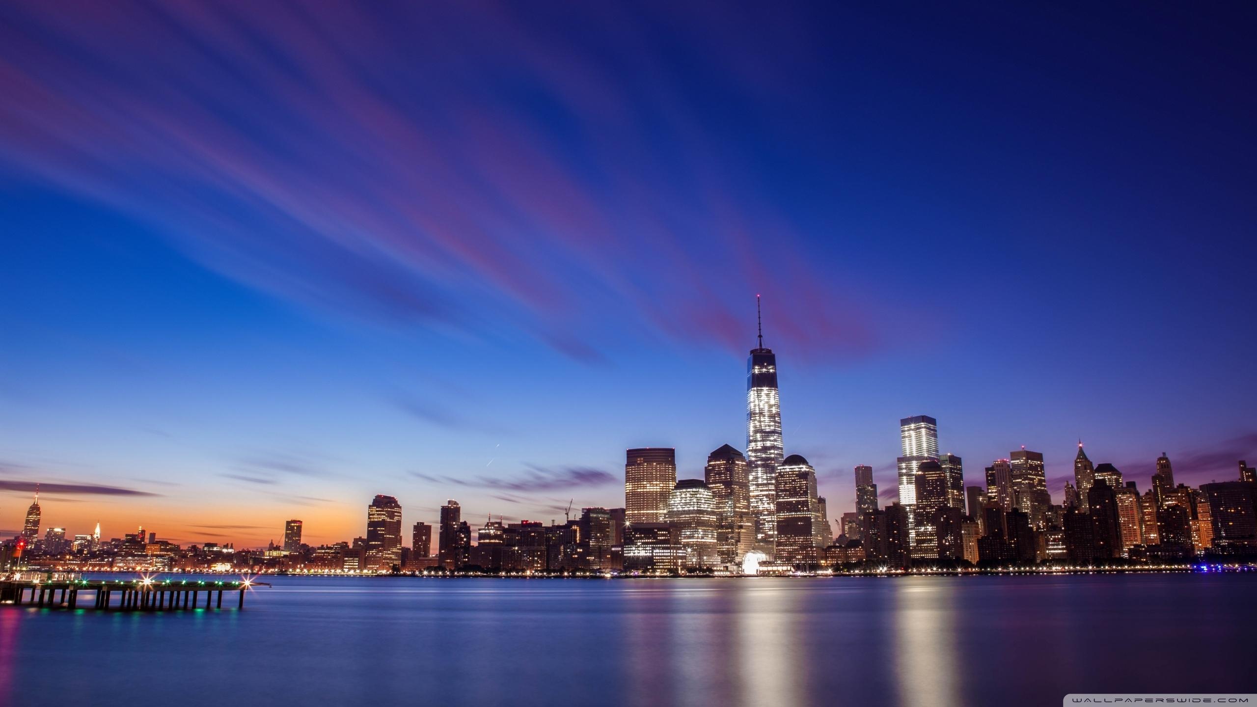 new york city skyline ❤ 4k hd desktop wallpaper for 4k ultra hd