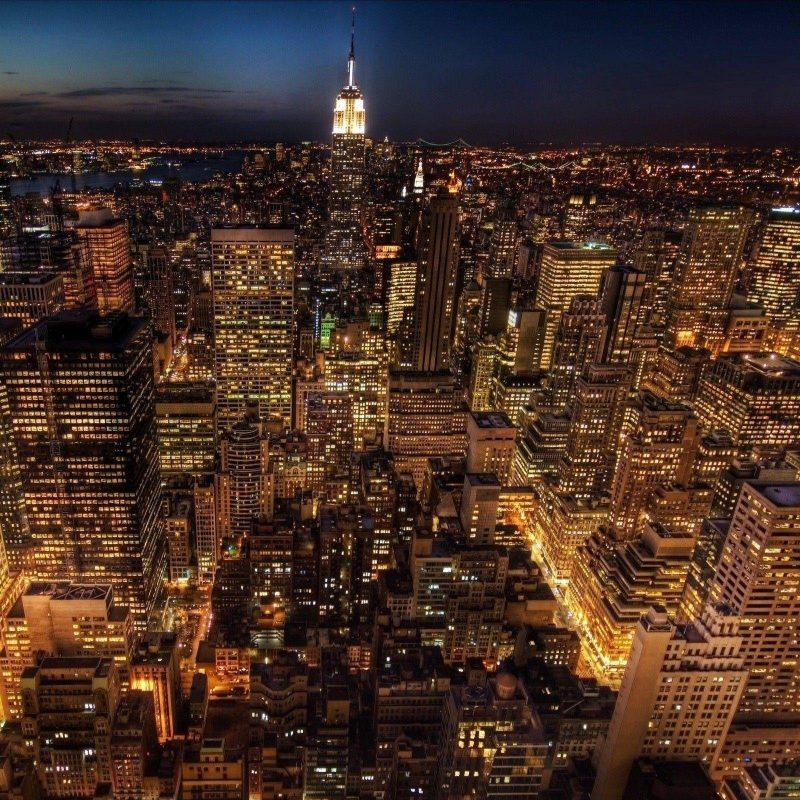 New York Skyline Wallpaper: 10 New New York Wallpaper Night FULL HD 1080p For PC