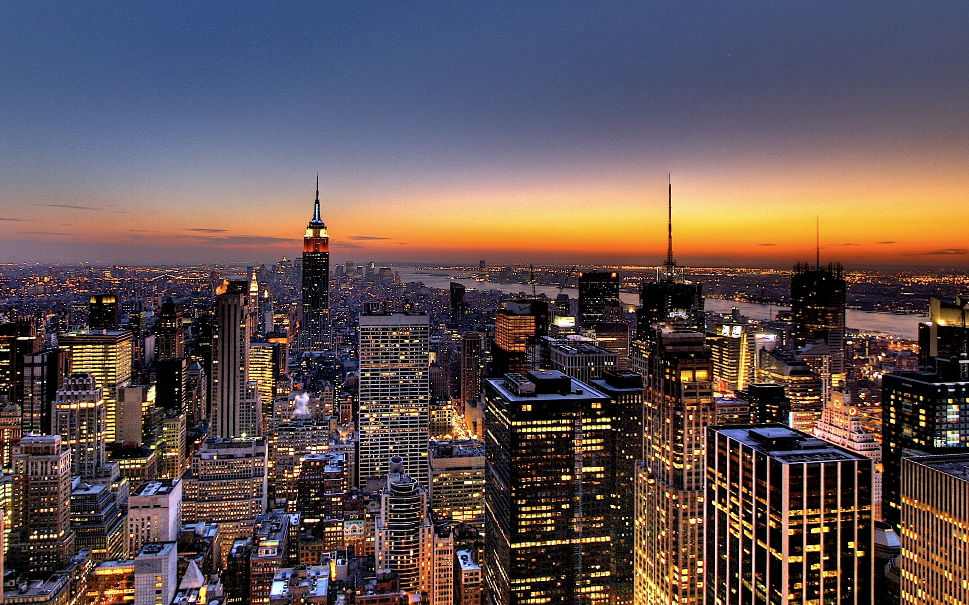 10 Latest New York Skyline Hd FULL HD 1920×1080 For PC Desktop