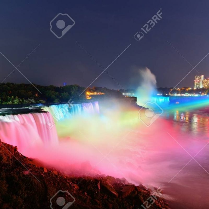 10 New Niagara Falls At Night Hd FULL HD 1080p For PC Background 2018 free download niagara falls lit at nightcolorful lights stock photo picture 800x800