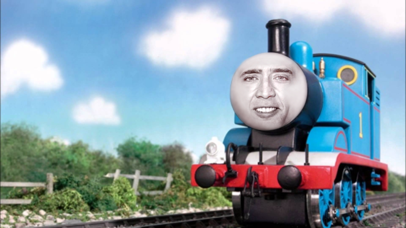 10 Best Nicolas Cage Meme Wallpaper FULL HD 1920×1080 For PC Desktop 2018 free download nic cage as thomas the tank engine nic cage as everyone know 800x450