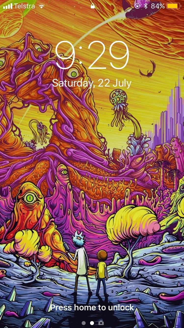 10 Best Trippy Rick And Morty Wallpaper Full Hd 1080p For