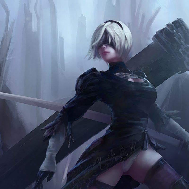 10 Top Nier Automata Wallpaper 2B FULL HD 1080p For PC Desktop 2018 free download nier automata game 279 wallpapers 2 800x800