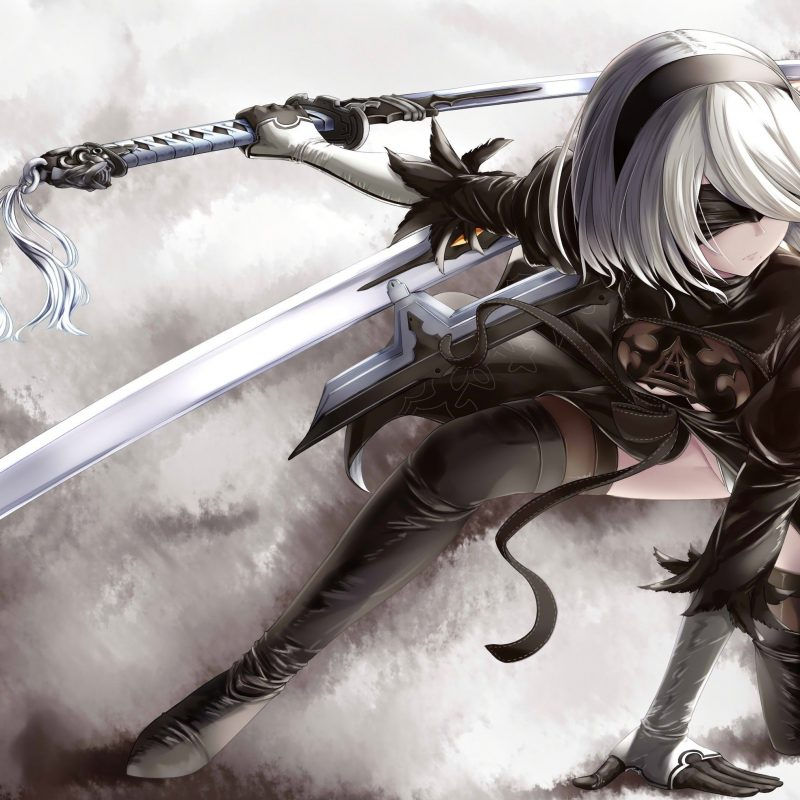 10 Top Nier Automata Wallpaper 2B FULL HD 1080p For PC Desktop 2018 free download nier automata wallpaper wallpaper abyss illustrations pinterest 800x800