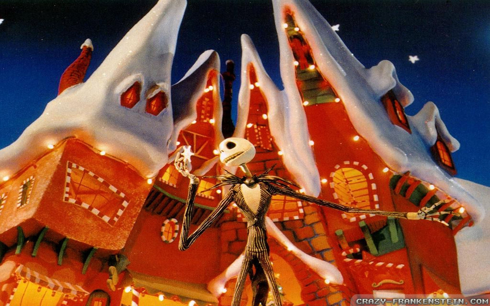 10 New Nightmare Before Christmas Christmas Background FULL HD 1080p ...