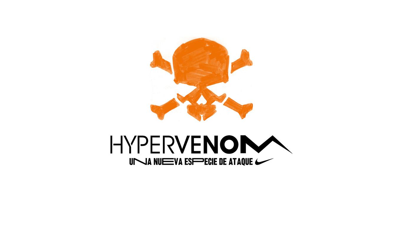 nike hypervenom logos