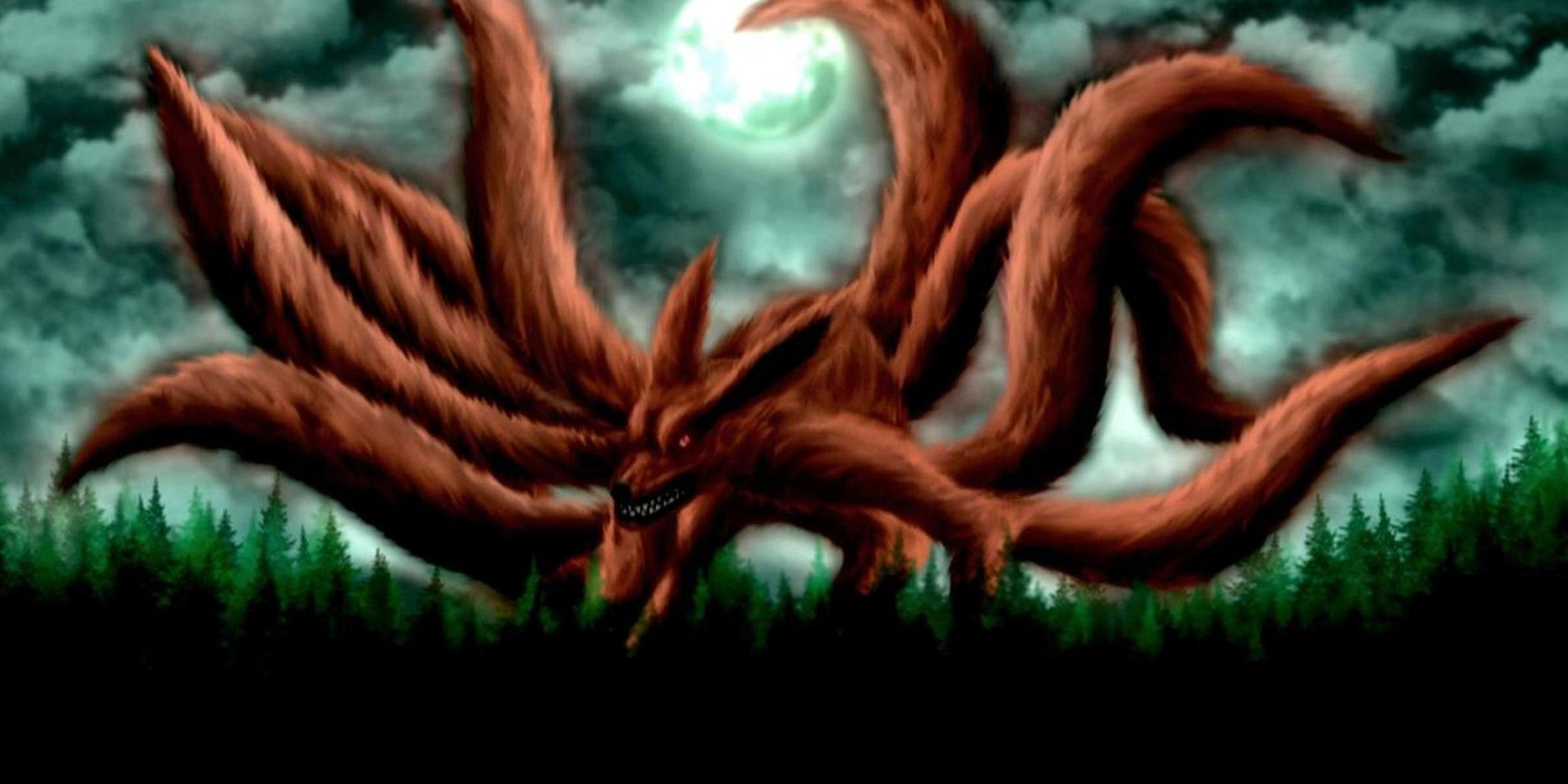 nine tailed fox wallpaper (71+ images)