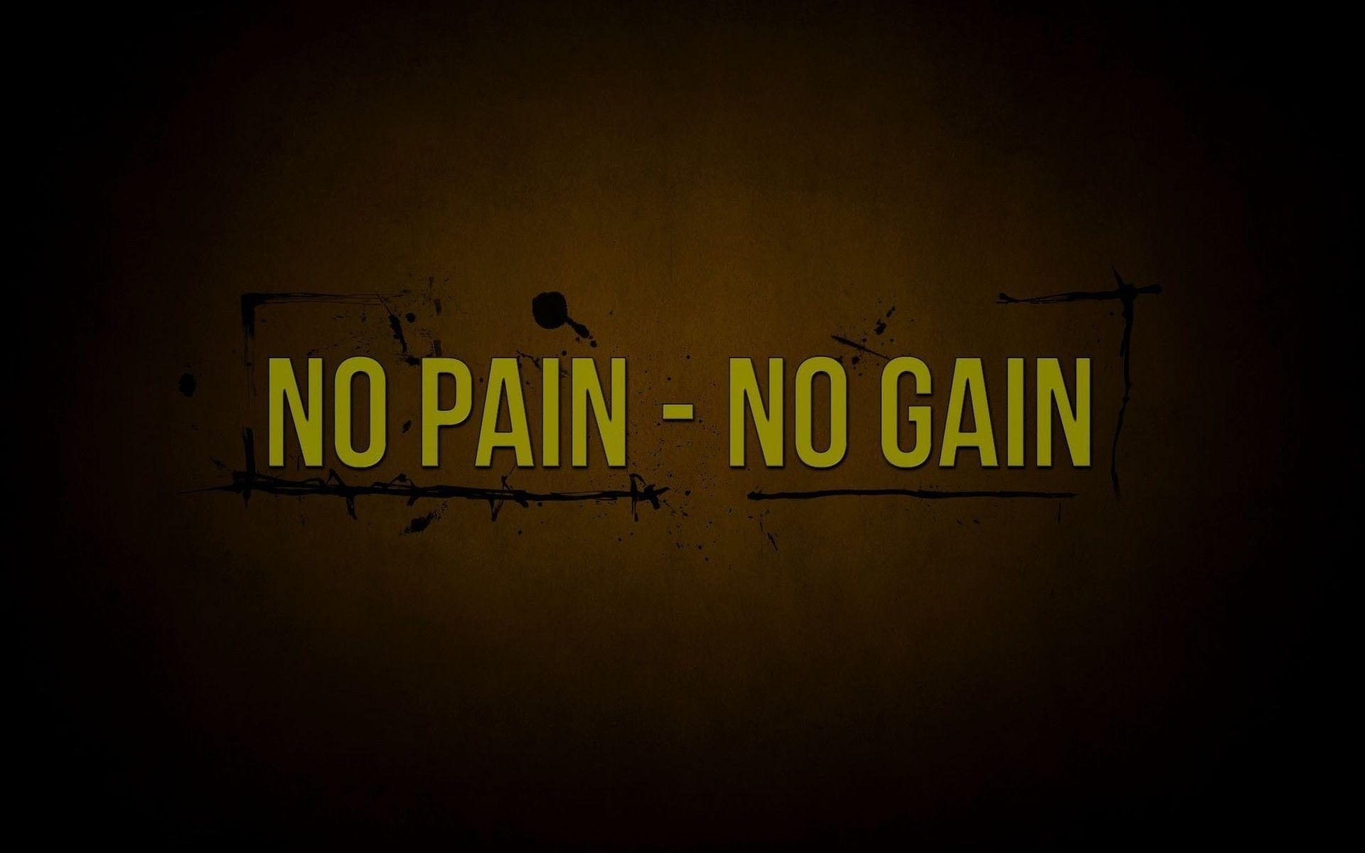 no pain no gain wallpapers - wallpaper cave