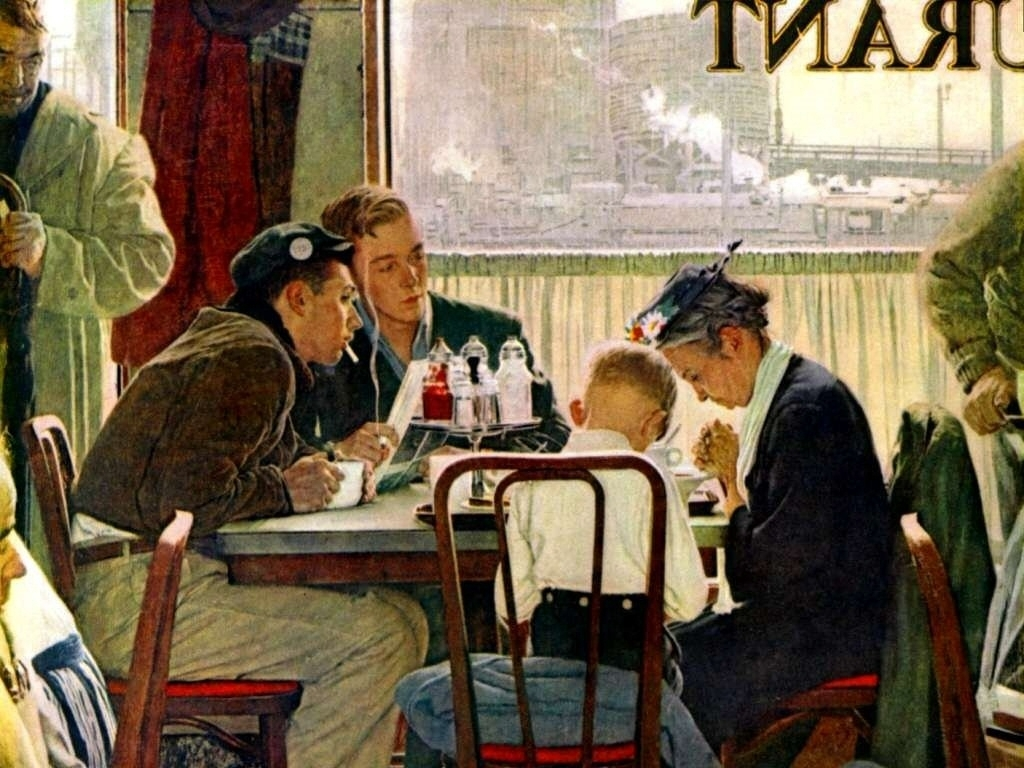 10 Top Norman Rockwell Thanksgiving Wallpaper FULL HD 1920×1080 For ...