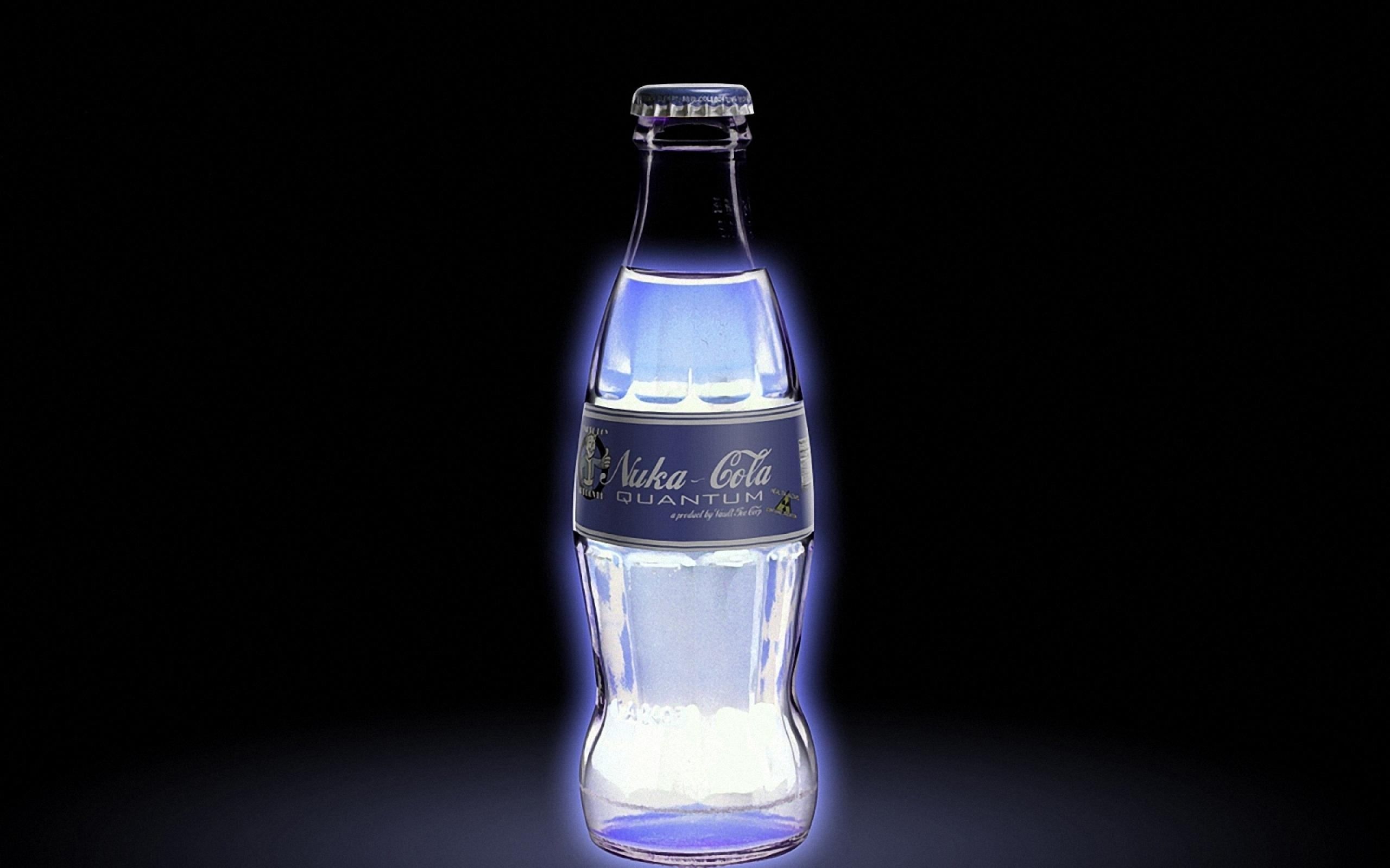 nuka cola quantum de lumière hd papier peint de bureau: écran large