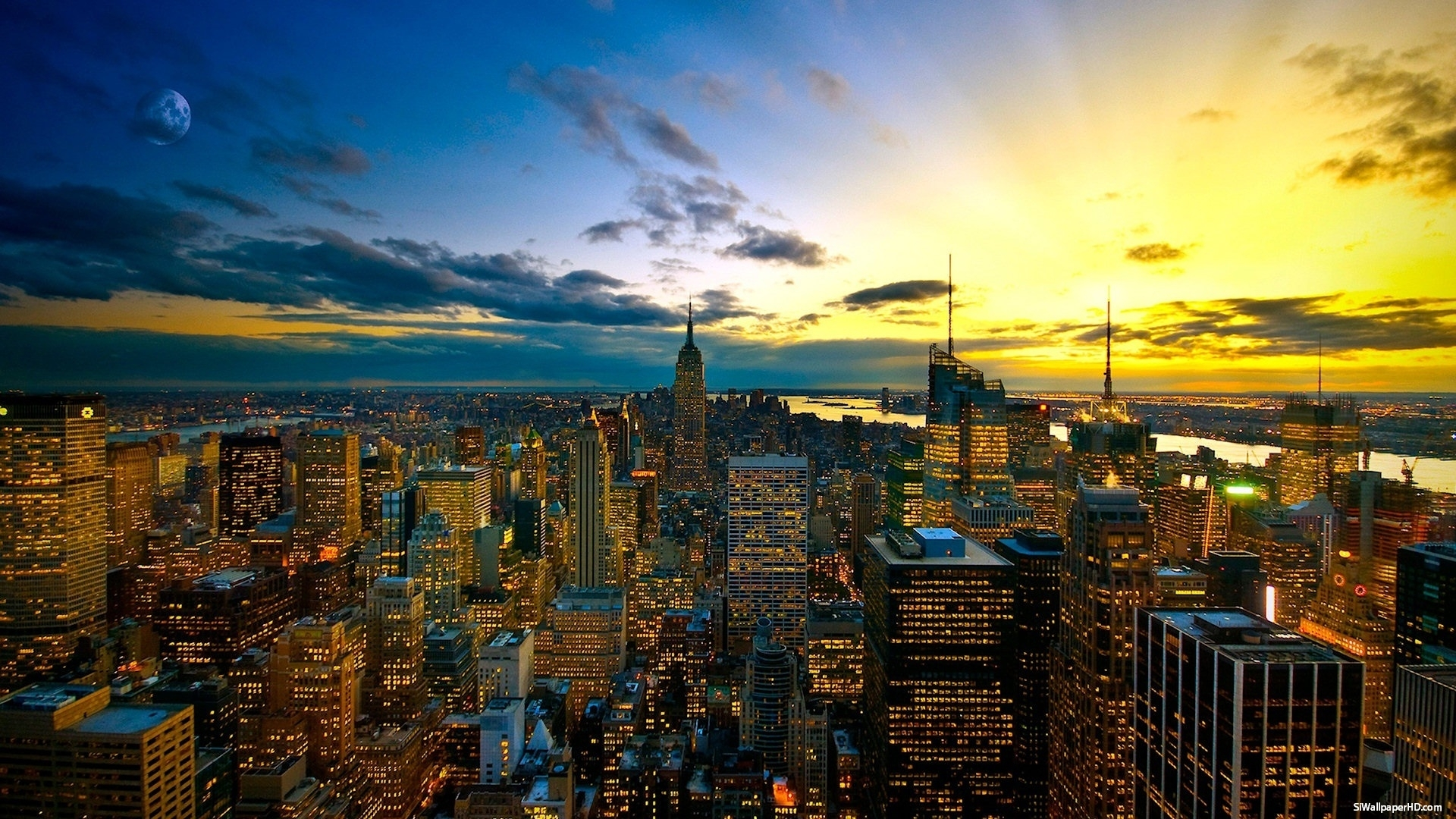 ny city skyline wallpaper 1920×1080 new york skyline wallpaper (45