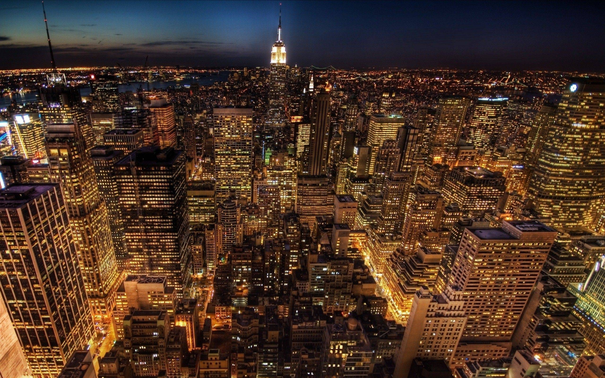 10 Best New York City Night Hd Wallpaper FULL HD 1080p For PC Background