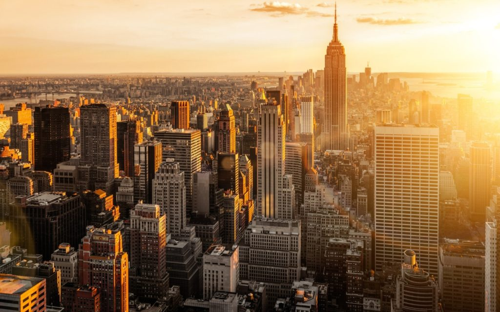 10 Best Nyc Skyline Desktop Wallpaper FULL HD 1920×1080 For PC Desktop 2018 free download nyc desktop wallpaper sharovarka pinterest 1024x640