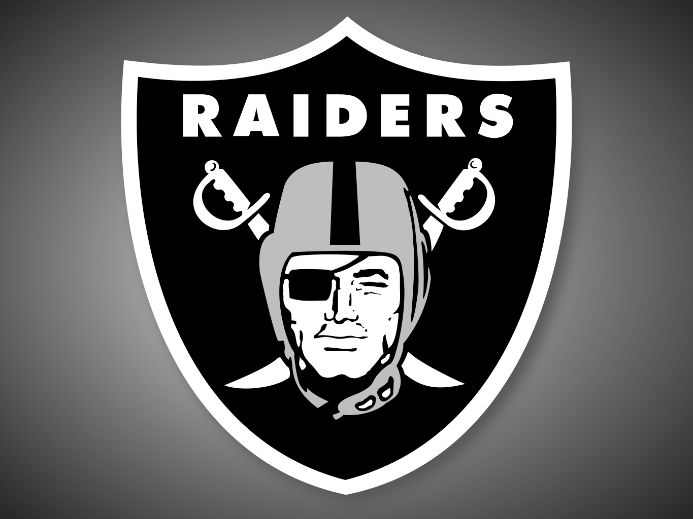 oakland raiders logo blank template - imgflip