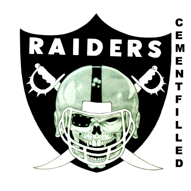 10 Most Popular Oakland Raider Logo Pictures FULL HD 1920×1080 For PC Background 2018 free download oakland raiders logocementfilled photo 1 800x800
