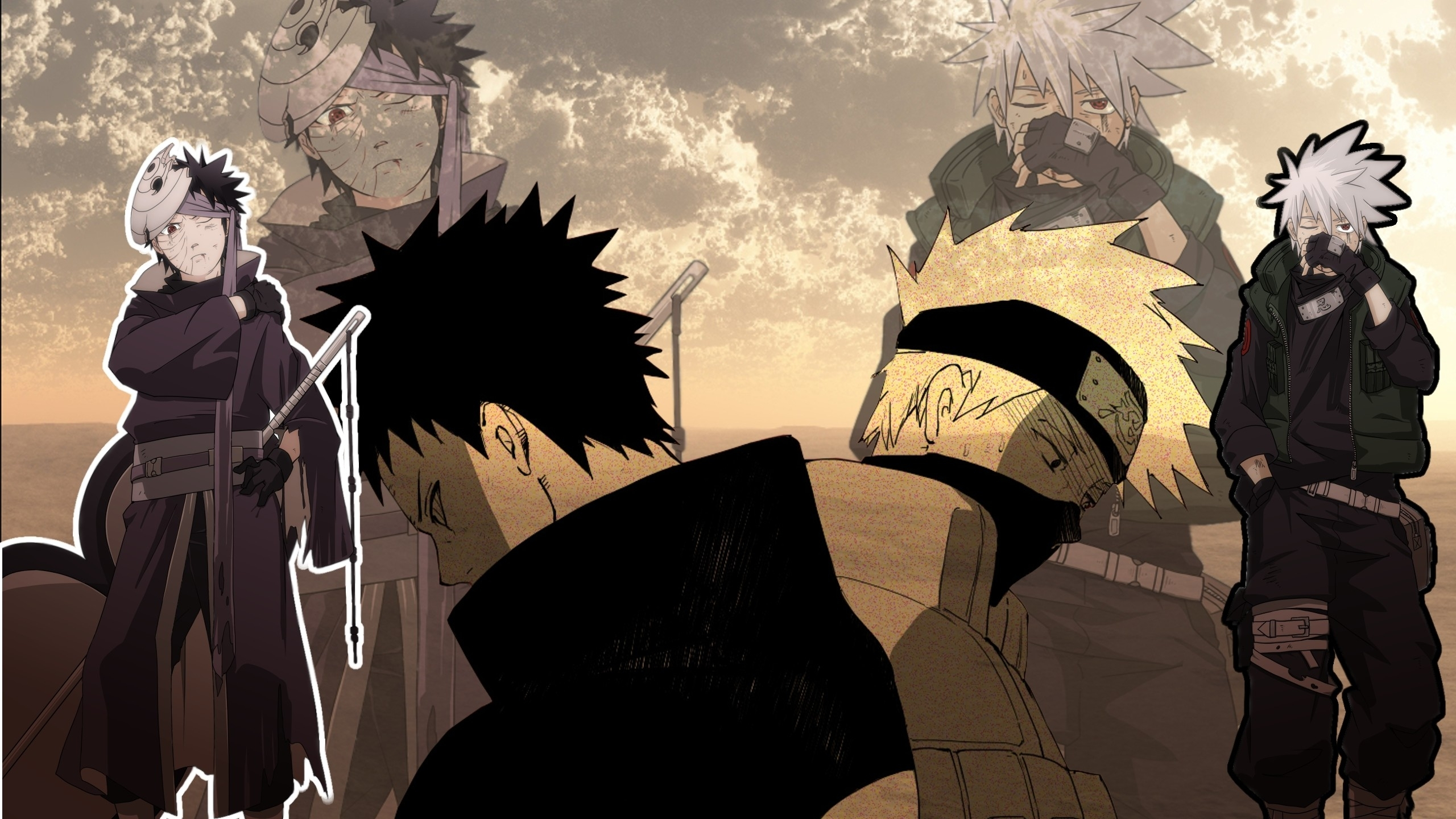 obito vs kakashi wallpaper (74+ images)